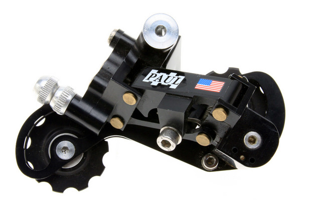 black Pauls rear derailleur
